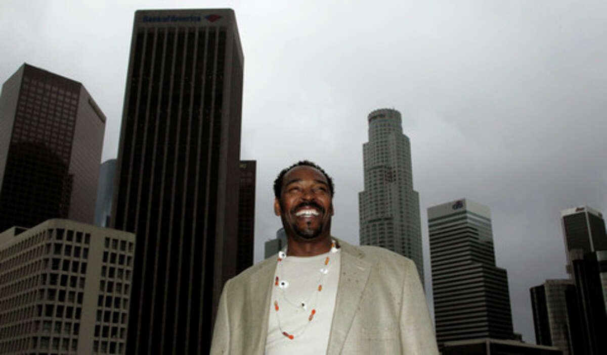 AP file photo This April 13 photo shows Rodney King posing for a portrait in Los Angeles.