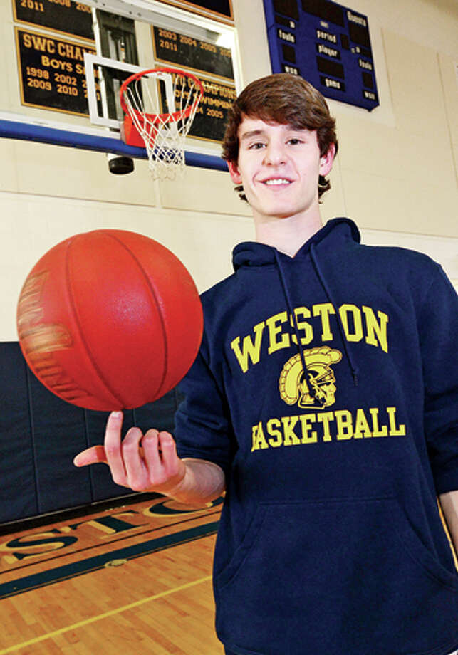 Weston High School hoops stand out, Charlie DiPasquale, All-Area MVP Hour photo / Erik Trautmann / (C)2013, The Hour Newspapers, all rights reserved