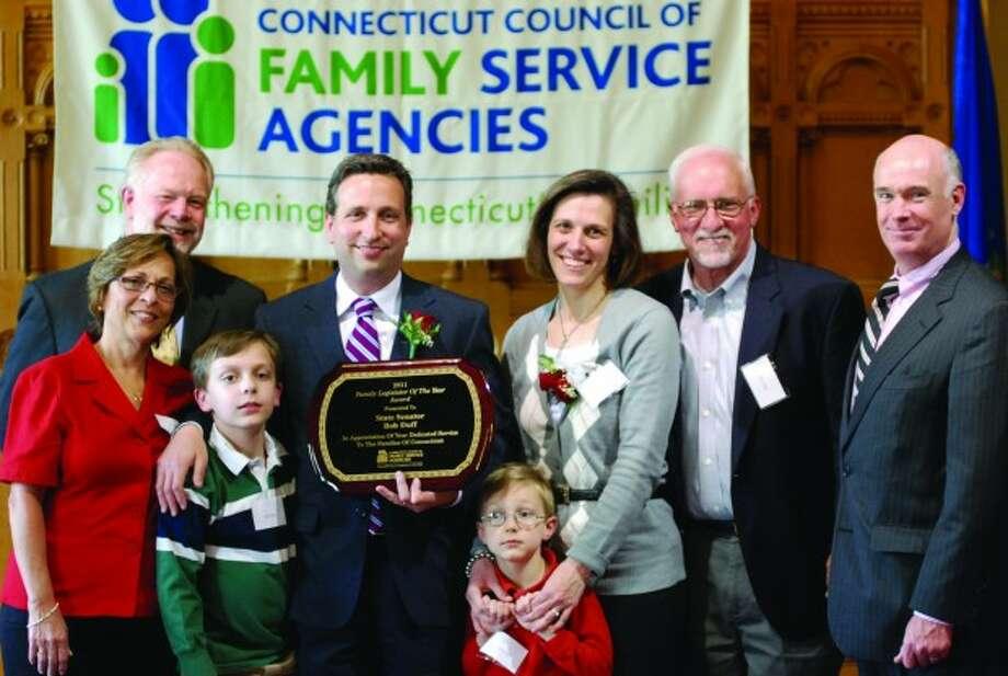 Duff honored as 'Family Legislator of the Year'
