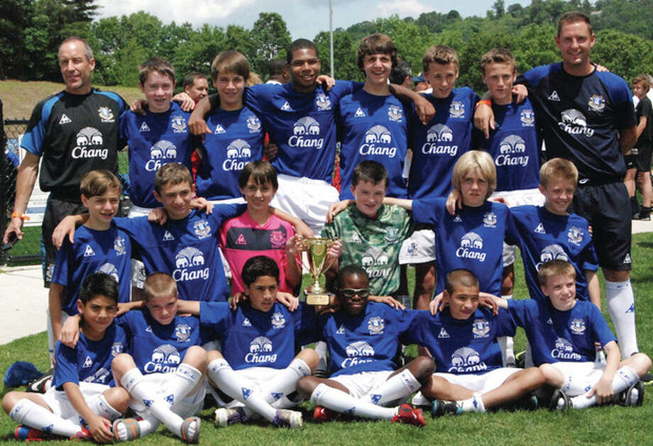 EVERTON AMERICA WIN STATE CHAMPIONSHIP At the start of the spring season expectations were high for the Everton America U13 Boys Regional team. Having tournament wins on Long Island (Peter Renzulli Labor Day Tournament) and New Jersey (2011 MAPS Cup) in the fall season as well as topping their regional league, the team entered the spring season looking to solidify their reputation as one of the region's, and nation's, top U13 Boys team. After wrapping up the North East Regional League championship their sights were set on the CJSA State Cup. With a first round bye the team came up against Northeast United (5-2) and CFC Rocky Hill (7-0), before a semi-final appearance against Valeo. A 2-1 win at their home facility in Norwalk matched them up against CFC Gunners in the final who had earned their final spot with victories against Beachside and Revolution. An early second half goal saw Everton America take the lead before a second allowed the team to relax and enjoy their state championship, taking the trophy back to Fairfield County. With the state cup win behind them the team now focuses on closing out the season in their regional league. The team are currently competing in the inaugural season of the NY Club Soccer League, a National Premier League, part of US Club Soccer's vision to improve competition and development. (www.nationalpremierleagues.com) With two games left to play a league title would see the team travel to Chicago in late July to compete in the National Premier League Champions Cup potentially against MLS Academy teams from around the country. And with US Youth Region 1 Championships in June this could be a busy summer for the team. For further information on the club and programs visit www.evertonamericact.com Everton America will be holding tryouts for U9-U18 teams June 18th-22nd. Registration is now...