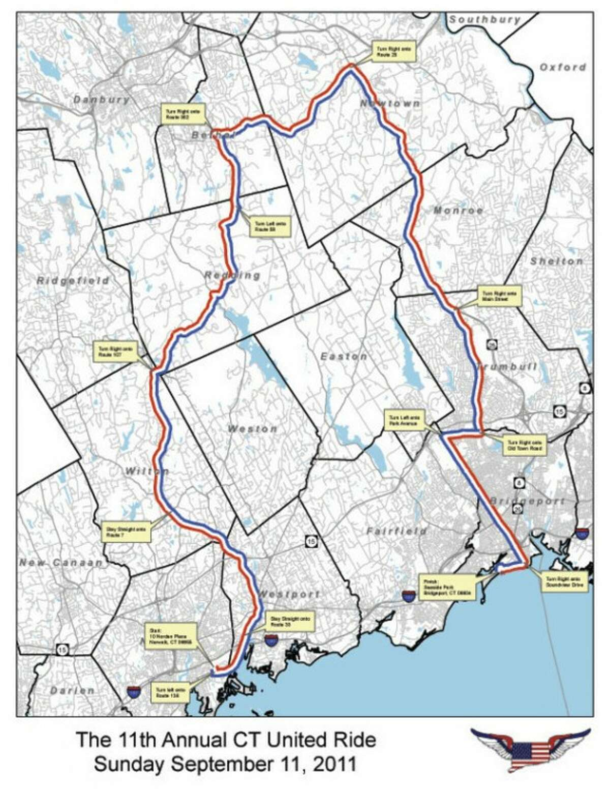CT United Ride expected to draw nearly 4,000 riders Sunday