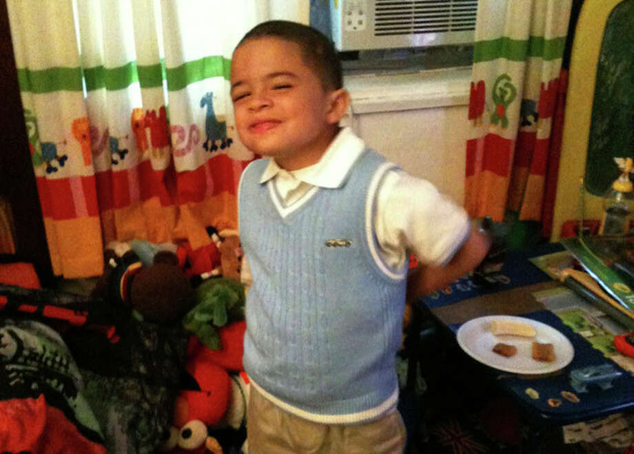 READER PHOTO: Bryce first day at Columbus school.