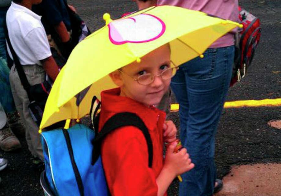 READER PHOTO: Kurt's first day of school