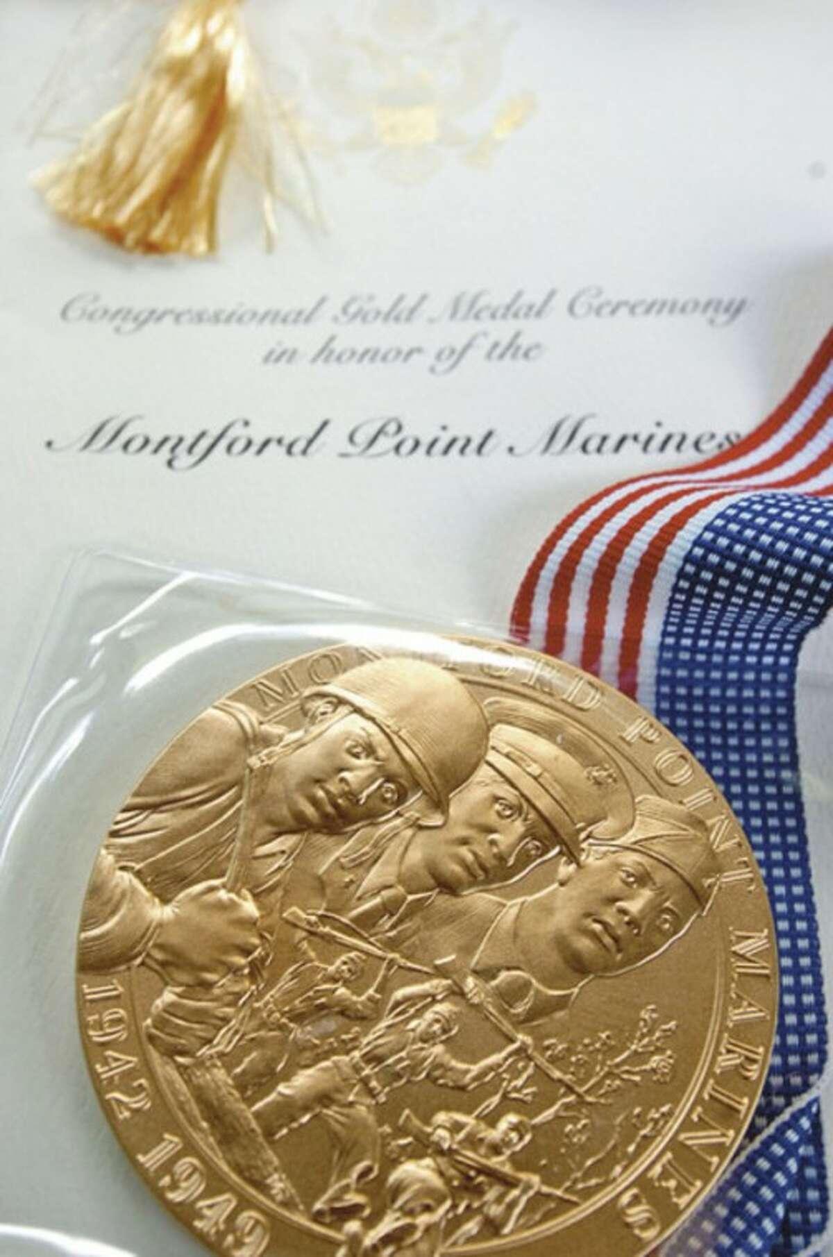 Congress last week awarded Isaac Ballard the Congressional Gold Medal.