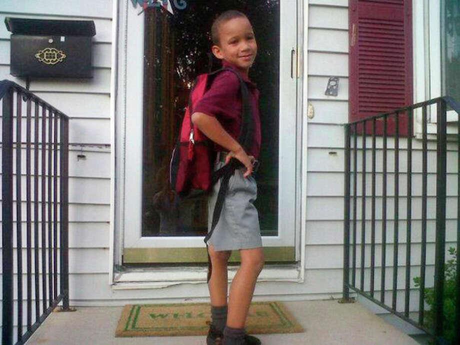 READER PHOTO: Connor B from Norwalk attends St. Cecilia's in Stamford. Kindergarten