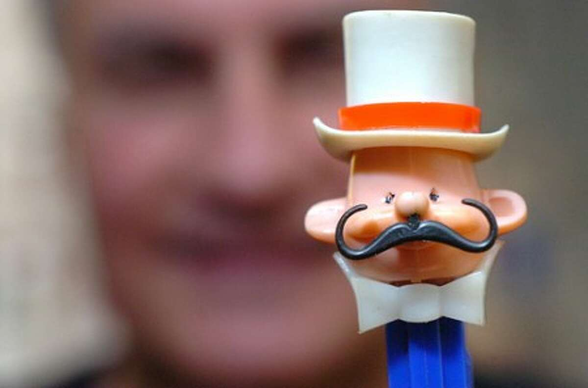 Photo/Alex von Kleydorff. The Ringmaster, A Pez Pal from the late 70''s is part of John Laspinas collection