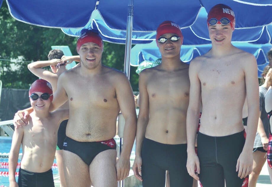 Newfield relay breaks 29-year-old pool record