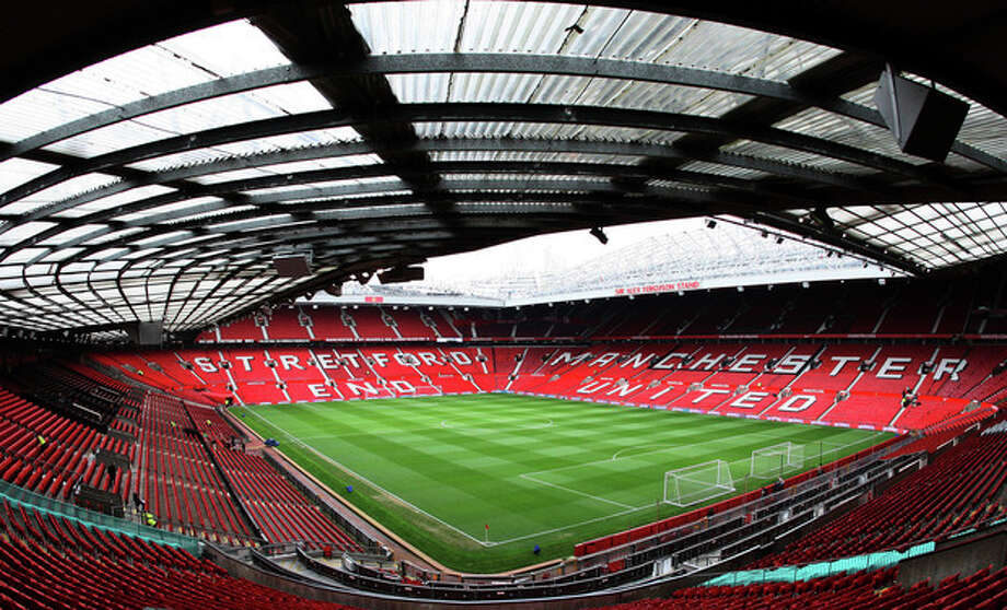 AP photoOld Trafford stadium appears empty ahead of an English Premier League soccer match between Manchester United and West Bromwich Albion in Manchester, England. / AP2012