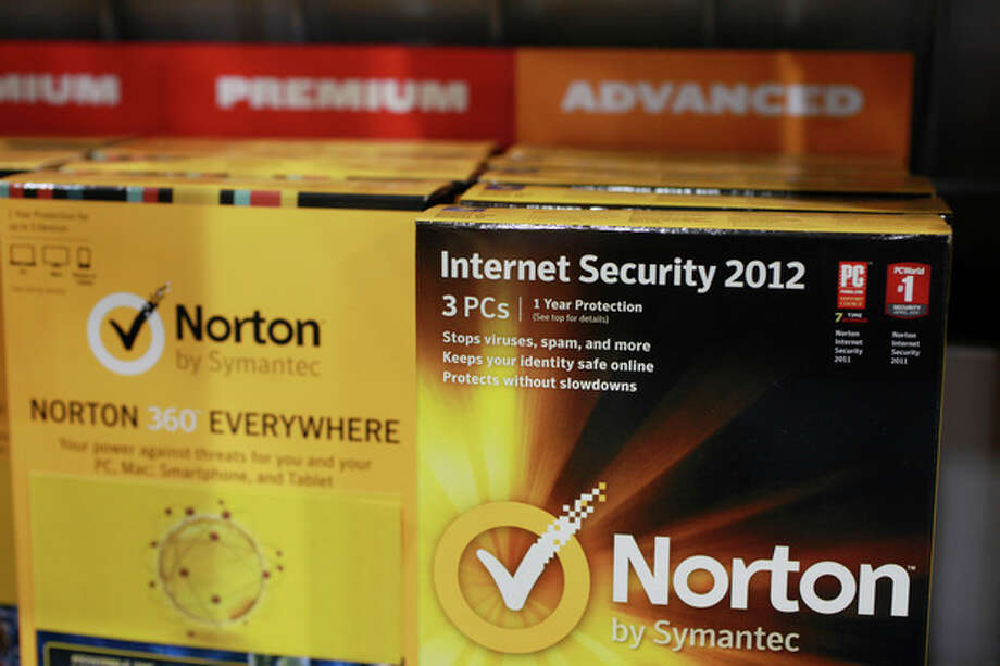 Norton's Internet Security 2012 software for computer security on display at Best Buy in Mountain View, Calif., Friday, July 6, 2012. Despite repeated alerts, tens of thousands of Americans may lose their Internet service Monday unless they do a quick check of their computers for malware that could have taken over their machines more than a year ago. The warnings about the Internet problem have been splashed across Facebook and Google. Internet service providers have sent notices, and the FBI set up a special website. (AP Photo/Paul Sakuma) / AP