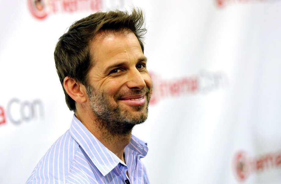 """Photo by Chris Pizzello/Invision/APZack Snyder, director of the upcoming film """"Man of Steel""""; poses before the Warner Bros. presentation at CinemaCon 2013 at Caesars Palace on Tuesday, April 16 in Las Vegas. / Invision"""