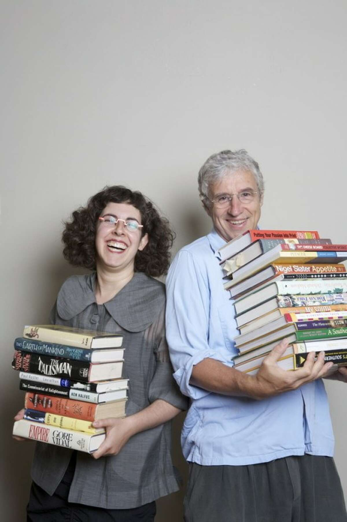 Contributed photo New York literary agent Arielle Eckstut and author David Henry Sterry are known as the Book Doctors.