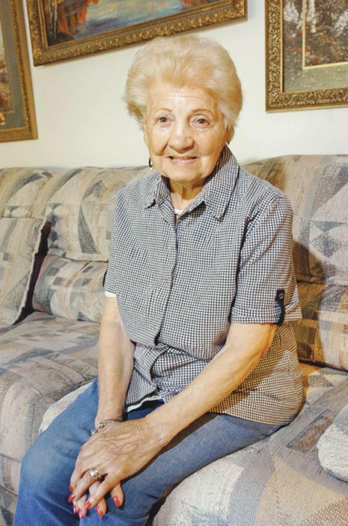 Hour photo / Erik Trautmann Frederica Genatiempo celebrated her 100th birthday Wednesday.