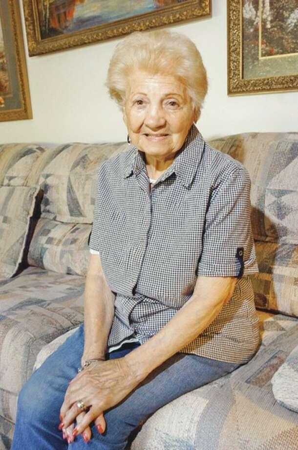 Hour photo / Erik TrautmannFrederica Genatiempo celebrated her 100th birthday Wednesday.