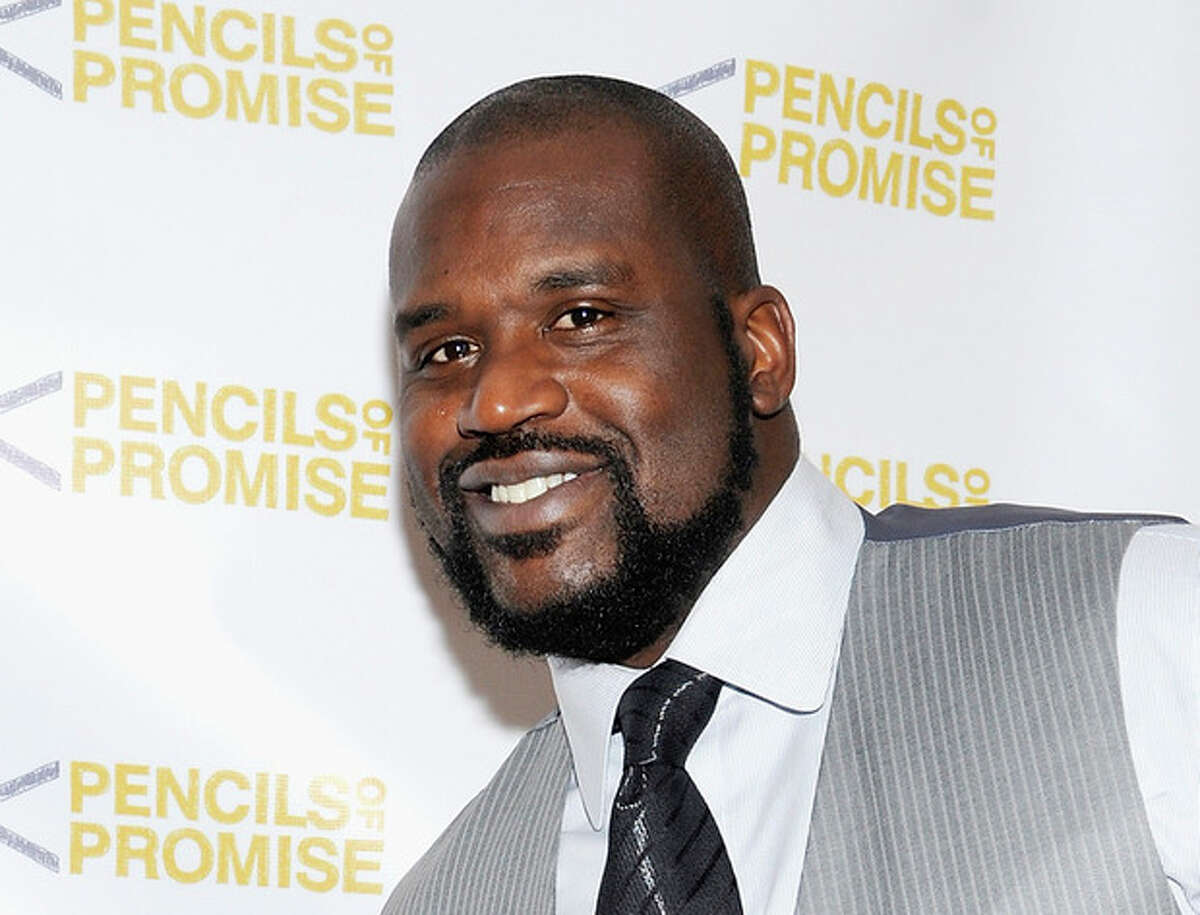"""FILE - This Nov. 17, 2011 file photo shows Shaquille O'Neal at the """"Pencils Of Promise"""" inaugural gala in New York. TruTV has ordered 10 episodes of a series with Shaquille O'Neal, currently titles """"Upload,"""" searching for funny online videos and creating a few of his own. (AP Photo/Evan Agostini, file)"""