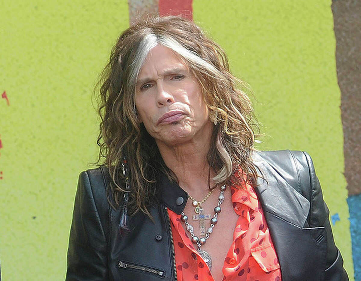 FILE - This March 28, 2012 file photo shows Steven Tyler speaking at the Aerosmith news conference announcing the 2012 Global Warming Tour in Los Angeles. Tyler announced Thursday, July 12, 2012 that he will not be returning as a judge on the singing competition series