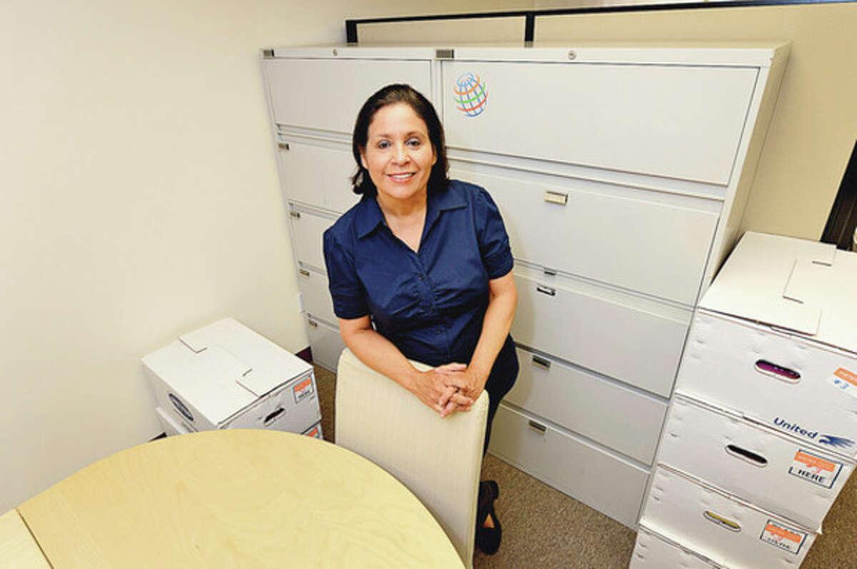 Sandra Ruiz-Desai and her company, Desai Communications, is moving to Norwalk from Stamford. Hour photo / Erik Trautmann