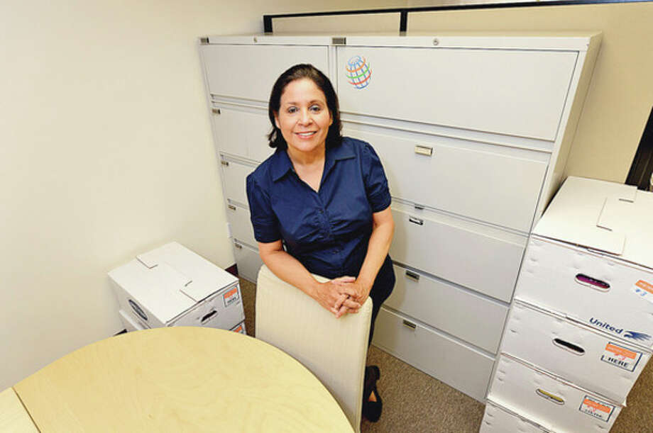 Sandra Ruiz-Desai and her company, Desai Communications, is moving to Norwalk from Stamford.Hour photo / Erik Trautmann / (C)2012, The Hour Newspapers, all rights reserved