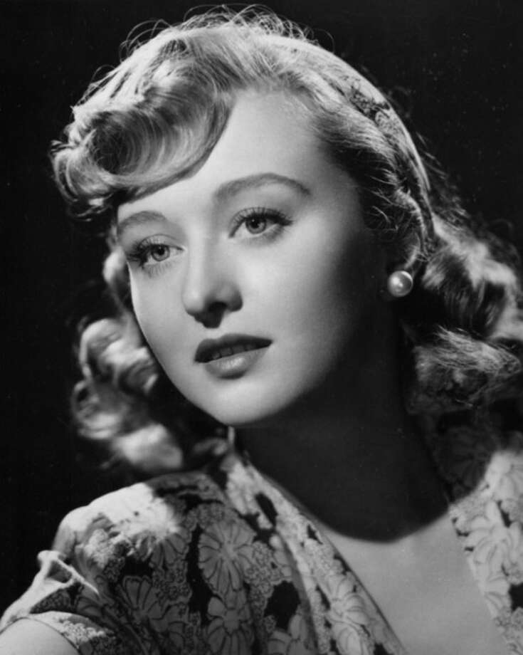 """In a 1948 file photo actress Celeste Holm poses as her character Anne from the motion picture """"Gentleman's Agreement."""" Holm, who won an Oscar in """"Gentleman's Agreement,"""" died Sunday July 15, 2012, a relative said. She was 95. (AP Photo/file)"""