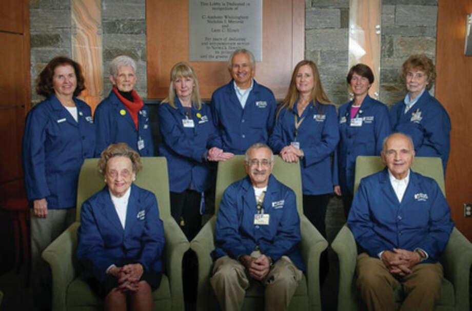 Newly elected members of the Norwalk Hospital Volunteer Board / 2011