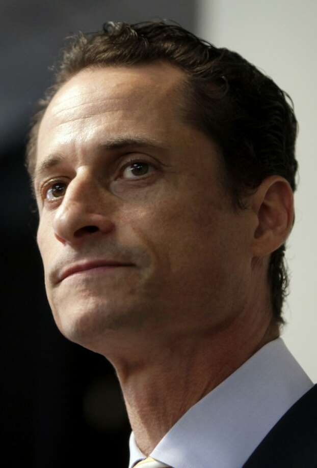 FILE - In a June 16, 2011 file photo, Anthony Weiner speaks to the media during a news conference in New York. Weiner on Friday July 13, 2012 filed disclosure reports with the New York City Campaign Finance Board that indicate he has approximately $4.5 million in the bank for a potential City Hall bid. (AP Photo/Seth Wenig, File)
