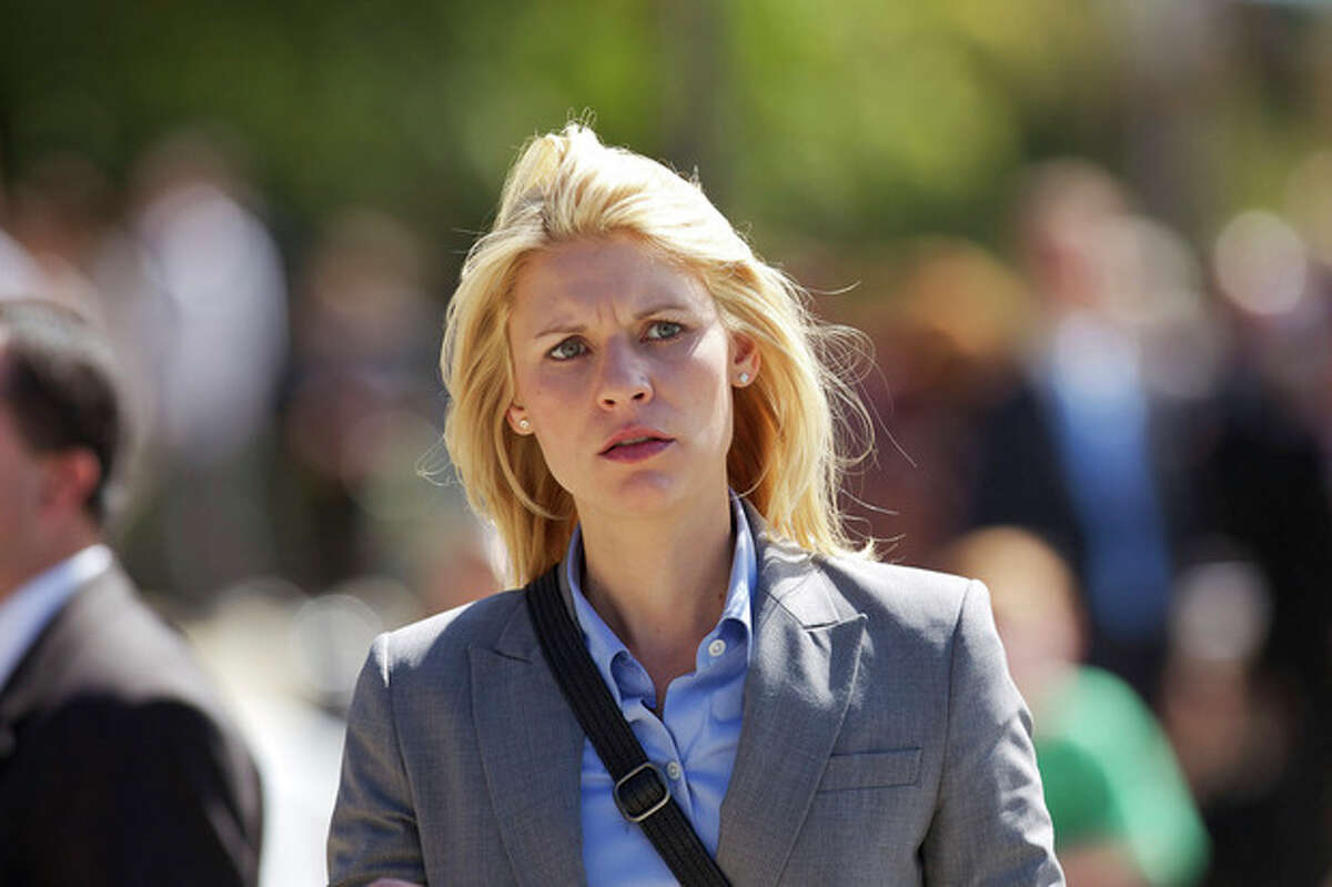 """In this publicity photo released by Showtime, actress, Claire Danes, as Carrie Mathison is shown in Episode 10, of """"Homeland."""" Danes was nominated for an Emmy award for outstanding actress in a drama series on Thursday, July 19, 2012, for her role as Carrie Mathison on """"Homeland."""" The 64th annual Primetime Emmy Awards will be presented Sept. 23 at the Nokia Theatre in Los Angeles, hosted by Jimmy Kimmel and airing live on ABC. (AP Photo/Showtime, Kent Smith)"""