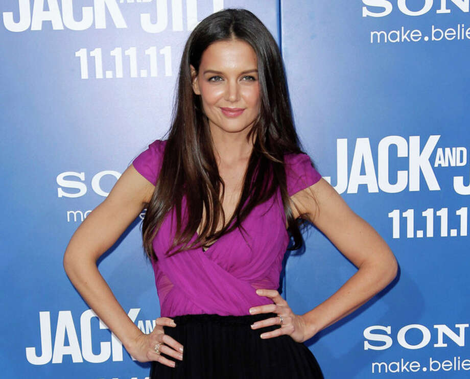 """AP Photo/Matt Sayles, fileThis Nov. 11, 2011 file photo shows actress Katie Holmes at the premiere of """"Jack and Jill"""" in Los Angeles. / AP"""