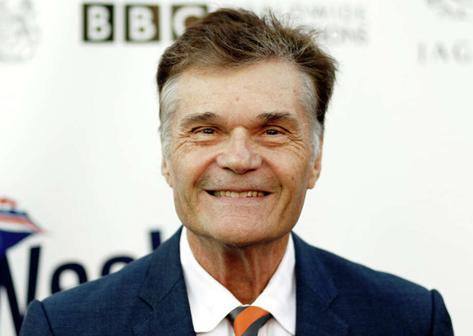 FILE - This April 26, 2011 file photo shows actor Fred Willard arriving at the fifth annual BritWeek in Los Angeles. Willard, who starred in such films as ``Best in Show'' and ``Anchorman: The Legend of Ron Burgundy,'' was arrested in a Hollywood theater July 18, 2012, on suspicion of engaging in a lewd act, police said Wednesday.(AP Photo/Matt Sayles, File) / AP