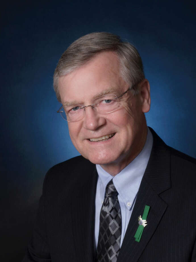 This handout photo provided by Common Cause, taken in 2012, shows Common Cause President and CEO Robert Edgar. Edgar, who represented Pennsylvania for six terms in the House of Representatives and went on to lead the public interest group Common Cause, has died at age 69. (AP Photo/Common Cause)