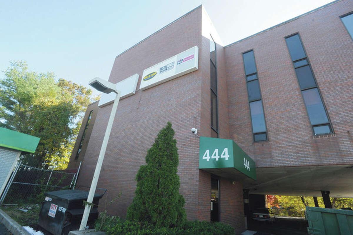 Hour photo / Matthew Vinci The WSTC building at 444 Westport Avenue in Norwalk.
