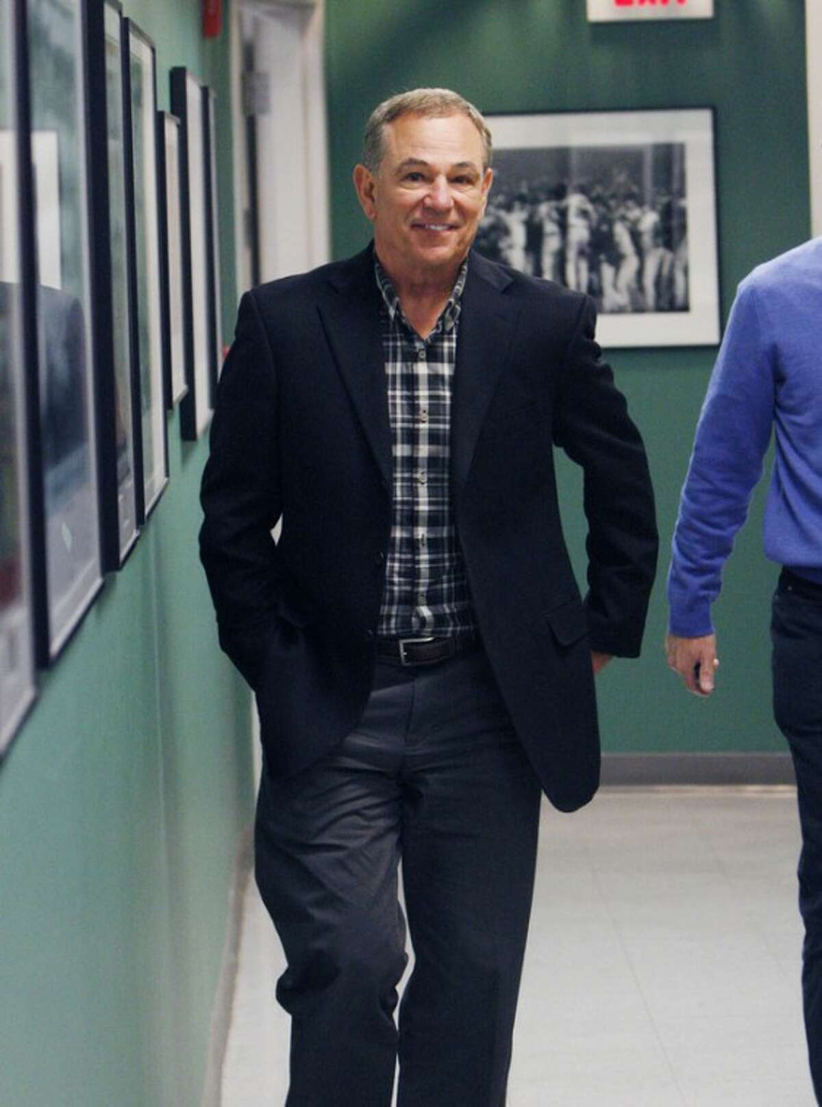 AP photo Bobby Valentine walks down a hall at Fenway Park after his interview for the Red Sox manager job. He will be introduced as the manager today.