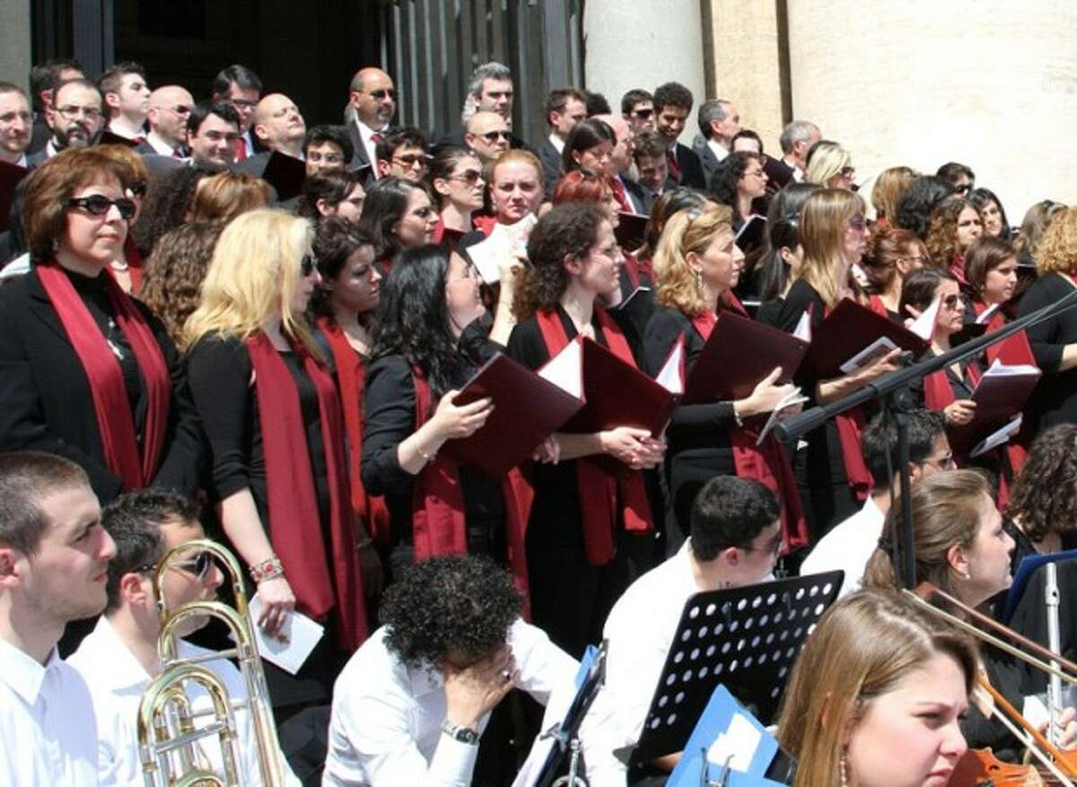 The Choir of the Pope''s Diocese of Rome. Contributed photo.
