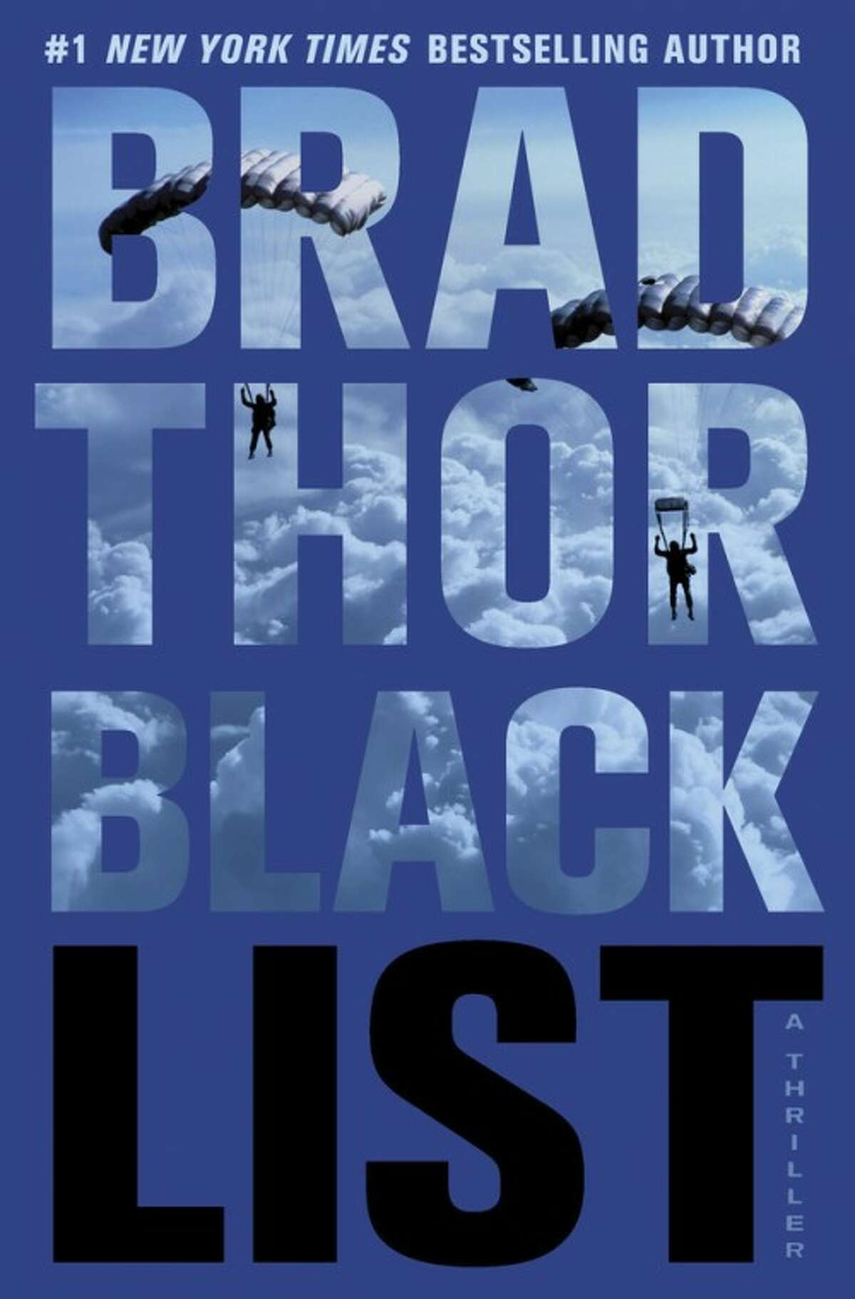 """This book cover image released by Atria shows """"Black List,"""" by Brad Thor. (AP Photo/Atria)"""