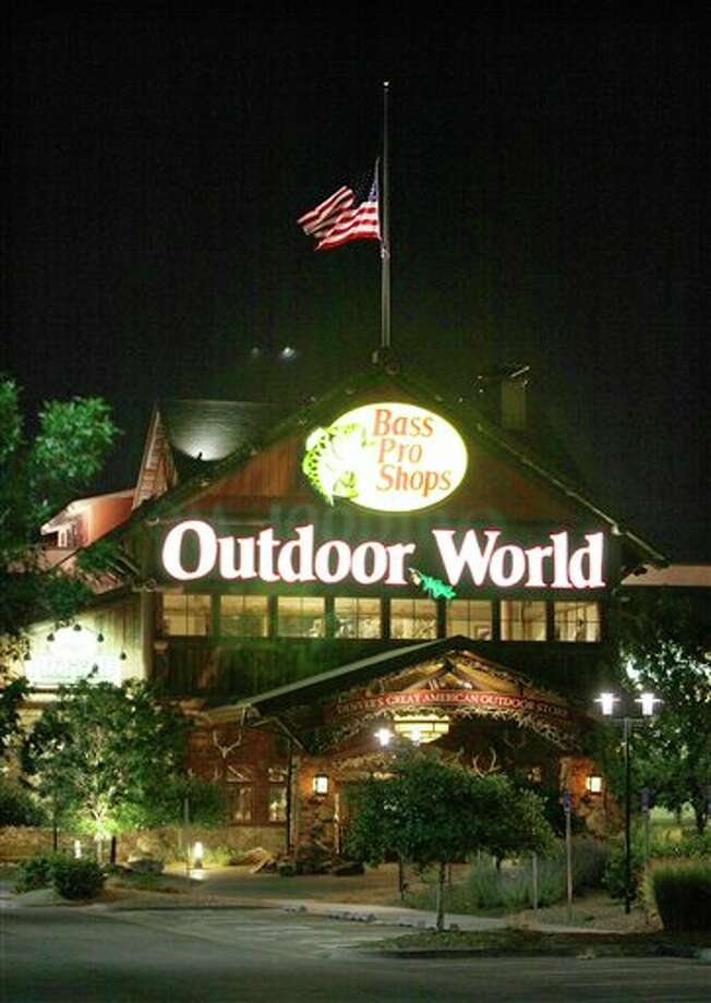 The Bass Pro Shops store in Denver, Colo. is shown, Saturday, July 21, 2012. The is store is where the gunman in Friday's movie theater shooting in Aurora, Colo., allegedly purchased two of his weapons. (AP Photo/Ted S. Warren) / AP