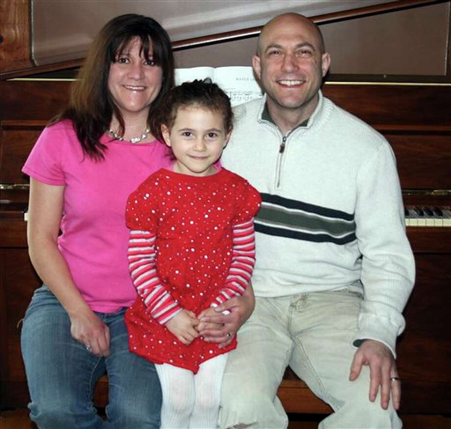 This undated photo provided by the Avielle Foundation shows Jeremy Richman, Jennifer Hensel and their daughter Avielle, 6, who was killed in the shooting massacre by Adam Lanza at Sandy Hook Elementary School in Newtown, Conn., on Dec. 14, 2012. As scientists, the couple wanted answers about what could lead a person to commit such violence. On Monday, April 15, 2013, they announced a scientific advisory board for the Avielle Foundation, which was established with the goal of reducing violence. (AP Photo/The Avielle Foundation) / The Avielle Foundation