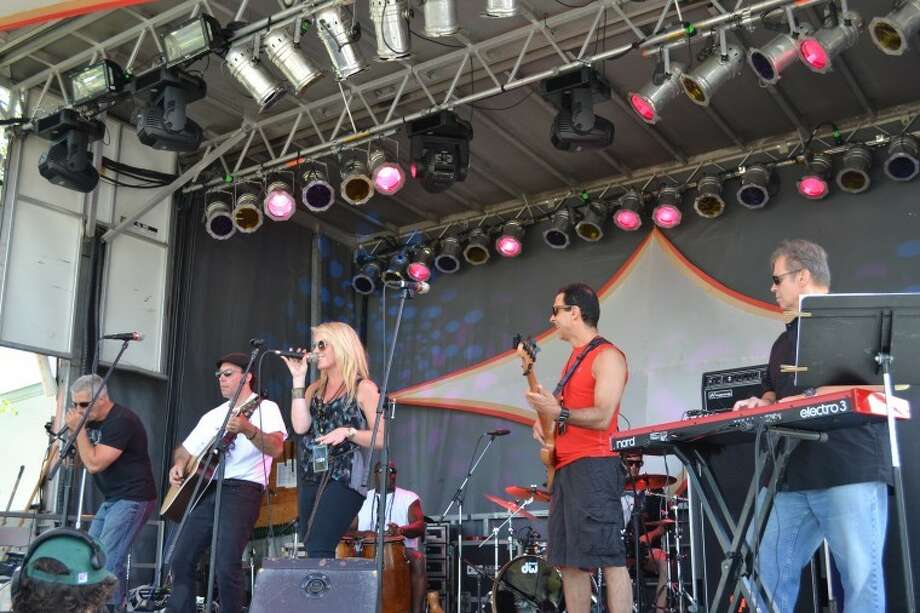 Band Together CT at the 2012 Gathering of the Vibes. Photo: Mike Horyczun.
