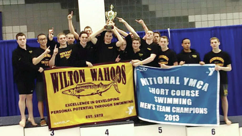 Wahoos boys team swims to national title