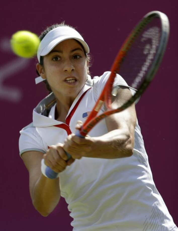 Rough day for 1st-time US Olympians at Wimbledon