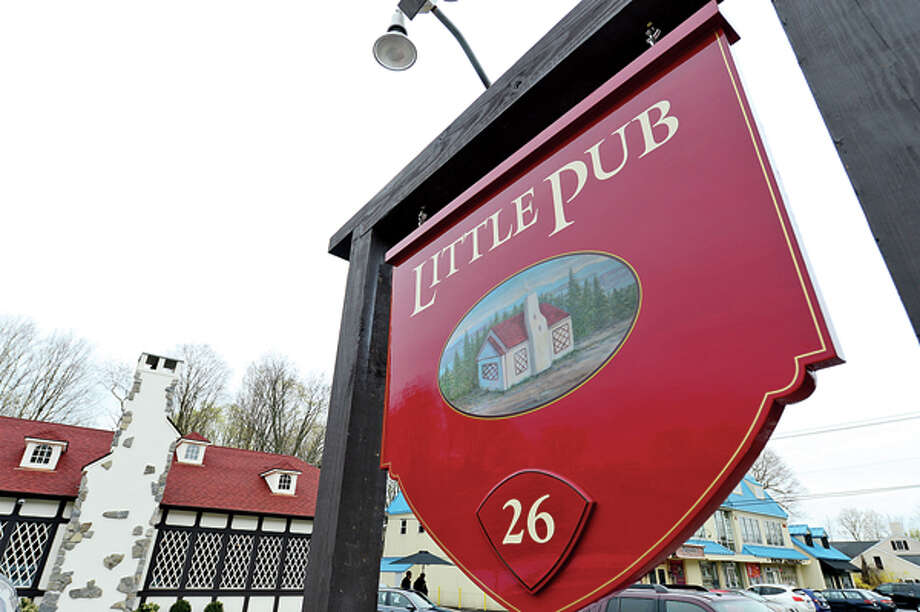 The Little Pub in Wilton offers the authentic pub feel. Hour photo / Erik Trautmann / (C)2013, The Hour Newspapers, all rights reserved