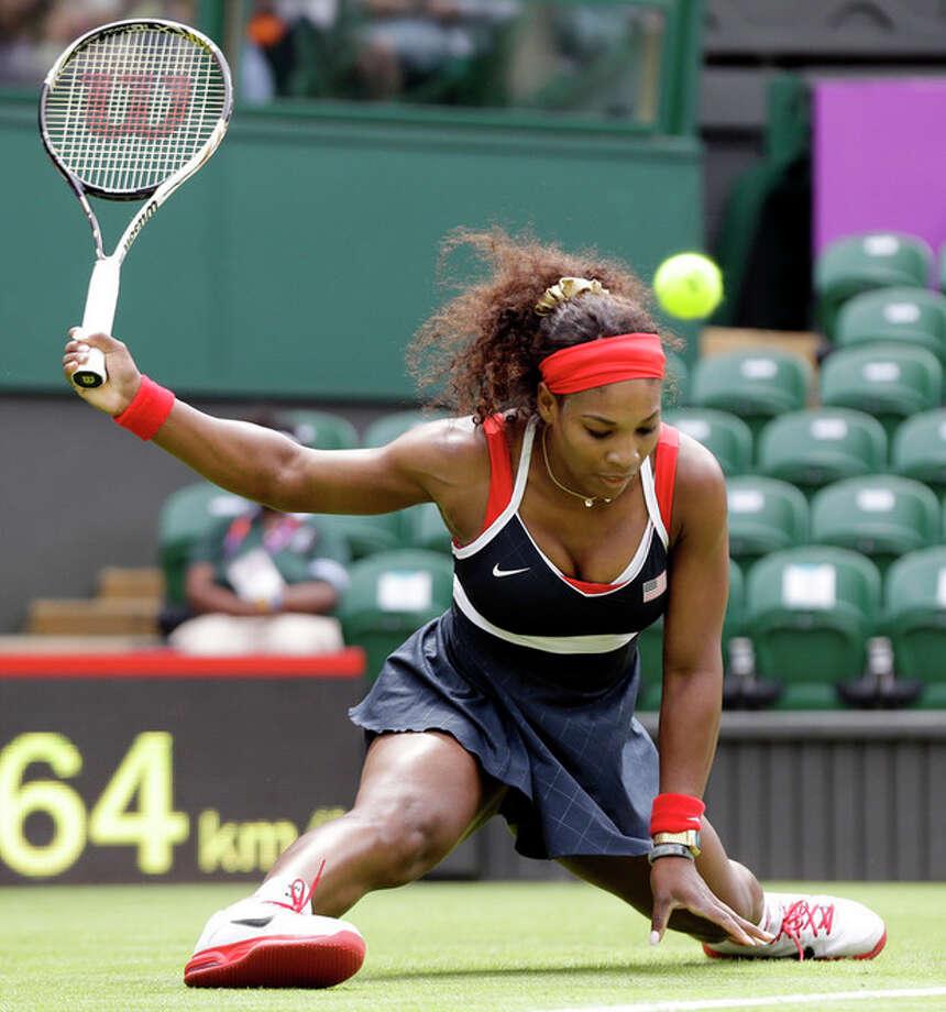 Serena Williams has first lady cheering at games / AP