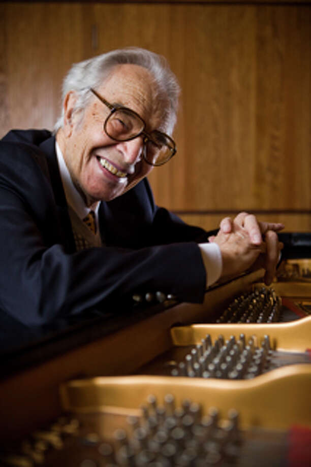 Dave Brubeck at the University of the Pacific, in Stockton, California December 14, 2008. / Max Whittaker