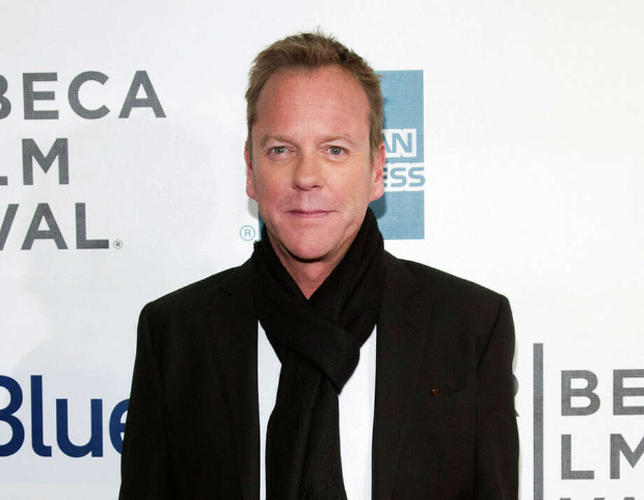 "FILE - This April 21, 2013 photo shows actor Kiefer Sutherland at the premiere of ""The Reluctant Fundamentalist"" during the 2013 Tribeca Film Festival in New York. Sutherland, known for his terrorist-hunting role on ""24,"" says the attacks of Sept. 11 had a profound effect on him, but he focused on the great loss in this country. He says the new film shows how the attacks had a ""ripple effect"" that resulted in ""the things I had the most: racism, prejudice, ignorance, fear."" (Photo by Dario Cantatore/Invision/AP, file ) / Invision"