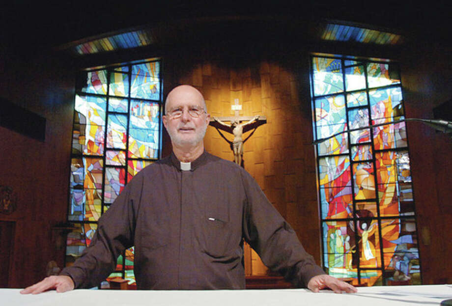 Hour photo / Erik Trautmann The Rev. David Blanchfield is pastor of St. Jerome's Church in Norwalk. / (C)2011, The Hour Newspapers, all rights reserved