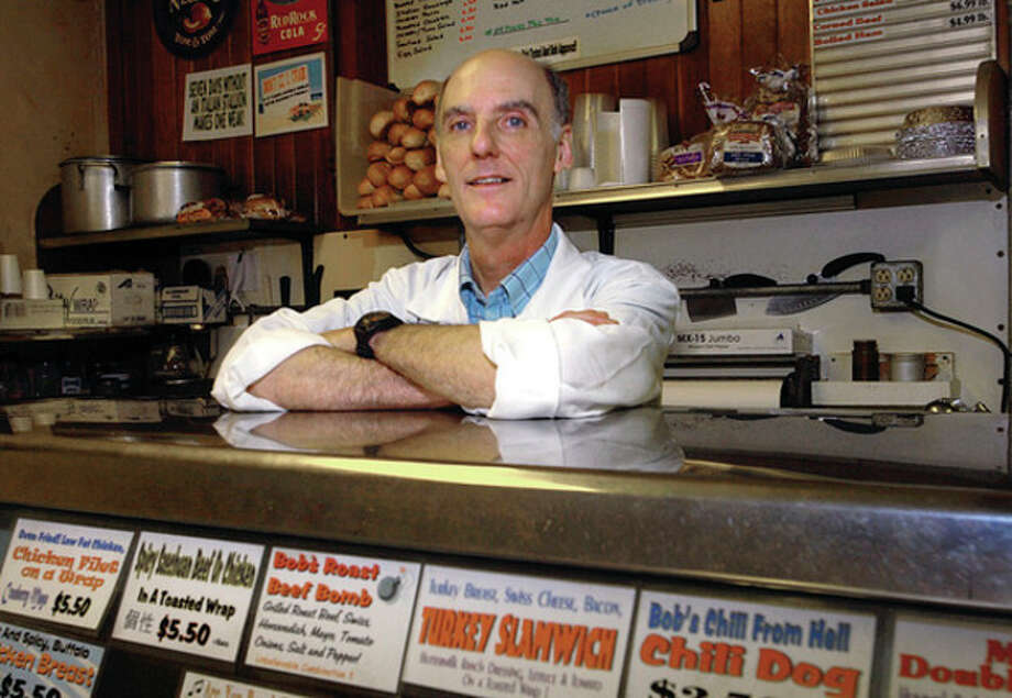 Robert Prastine, owner of Atlantic Meat Market on Wall St, will be closing the doors of this venerable establishment after 56 years. / (C)2011, The Hour Newspapers, all rights reserved