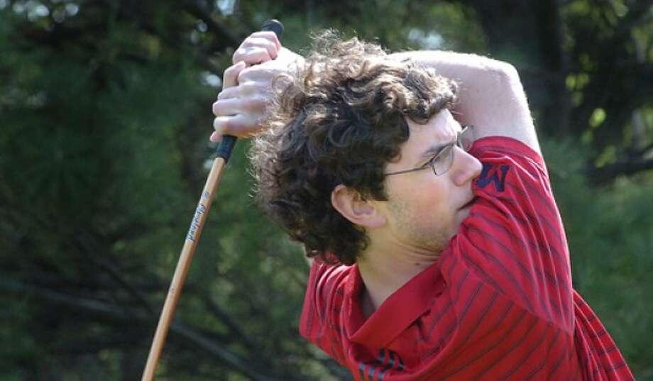 Photo/Alex von Kleydorff. McMahons Rick Buellesbach vs Norwalk golf
