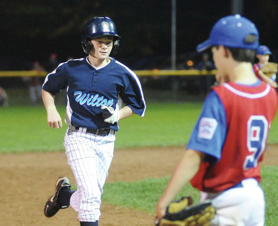 District 1 Little League -- Williams blast gives Wilton 12s opening win