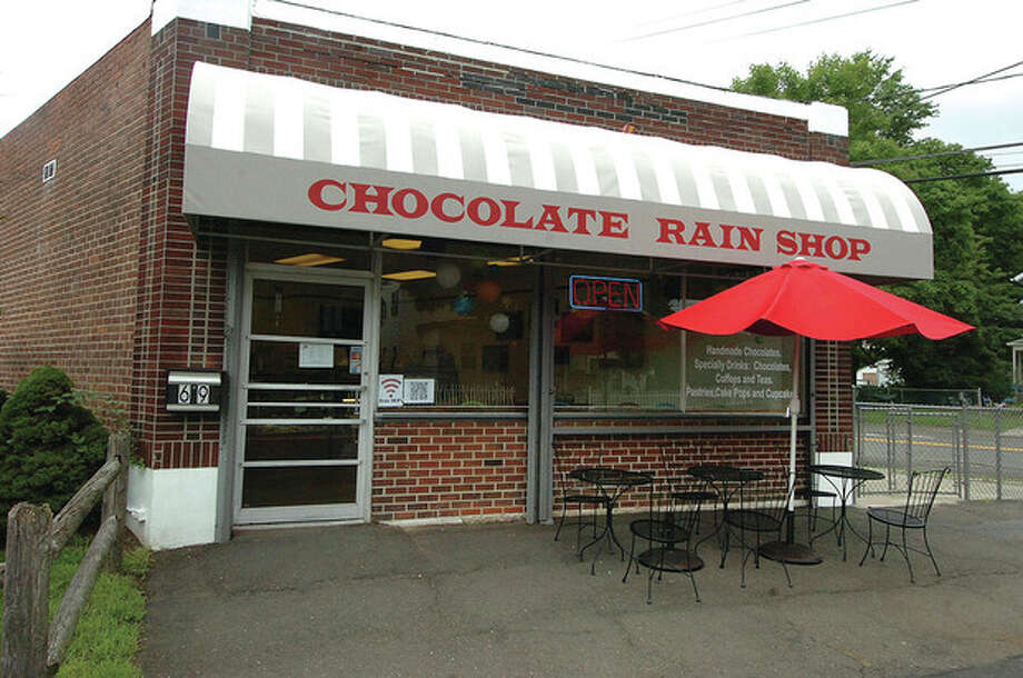 Hour Photo/ Alex von Kleydorff. Exterior at Chocolate rain. / 2012 The Hour Newspapers