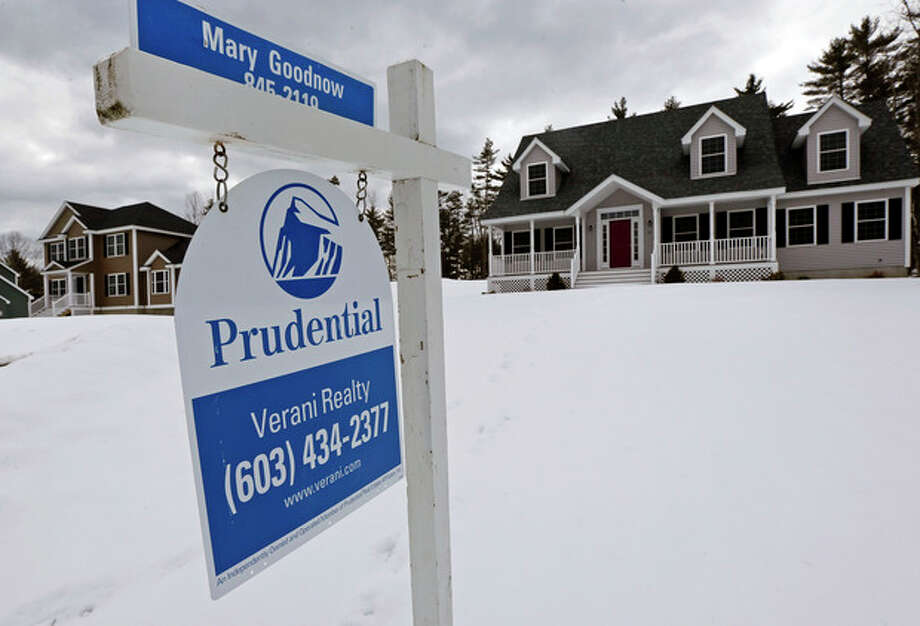 AP photoIn this file photo, a home is for sale in Auburn, N.H. Standard & Poor's/Case-Shiller reports on home prices in February this week. / AP