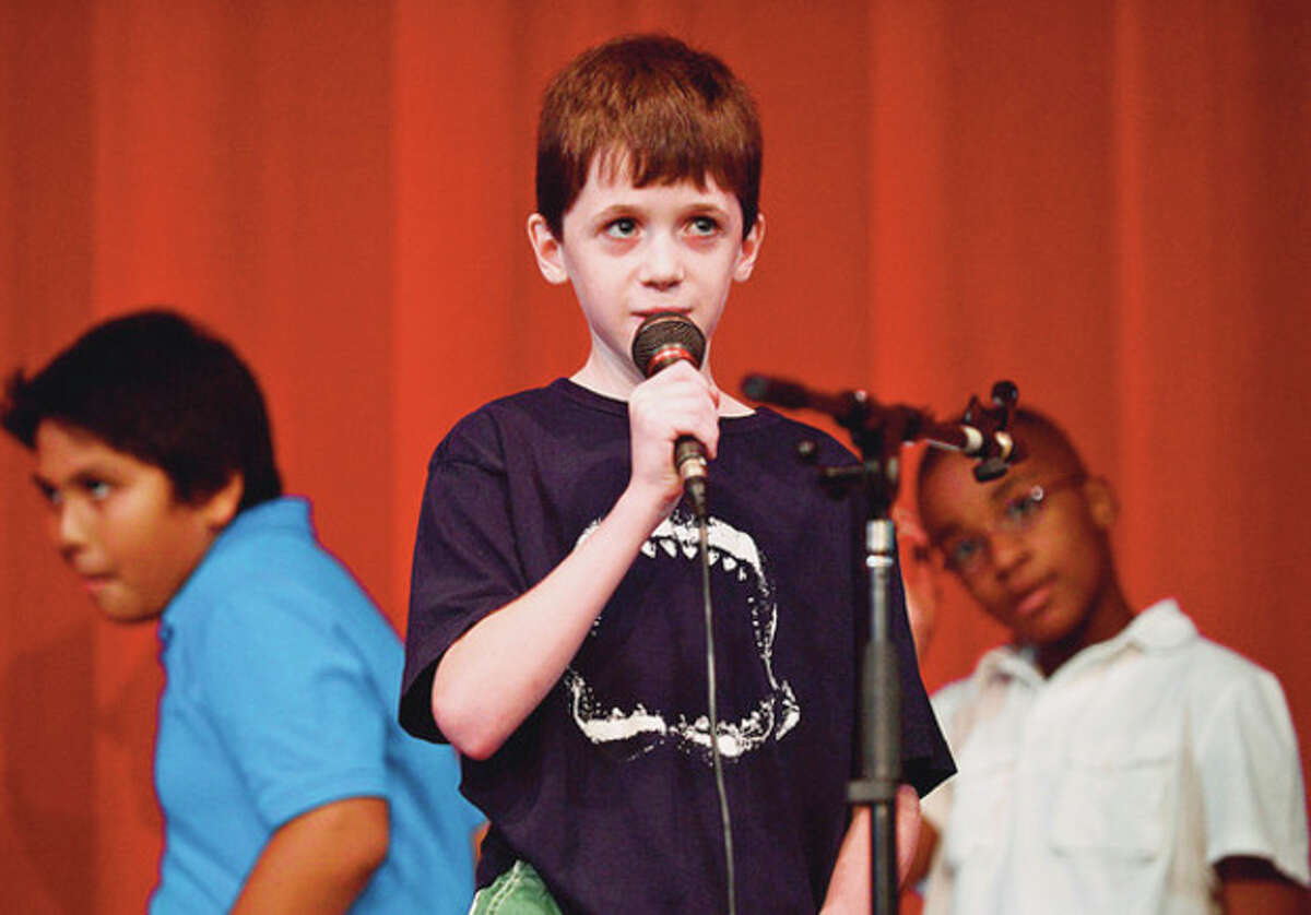 Aidan LaJoie sings