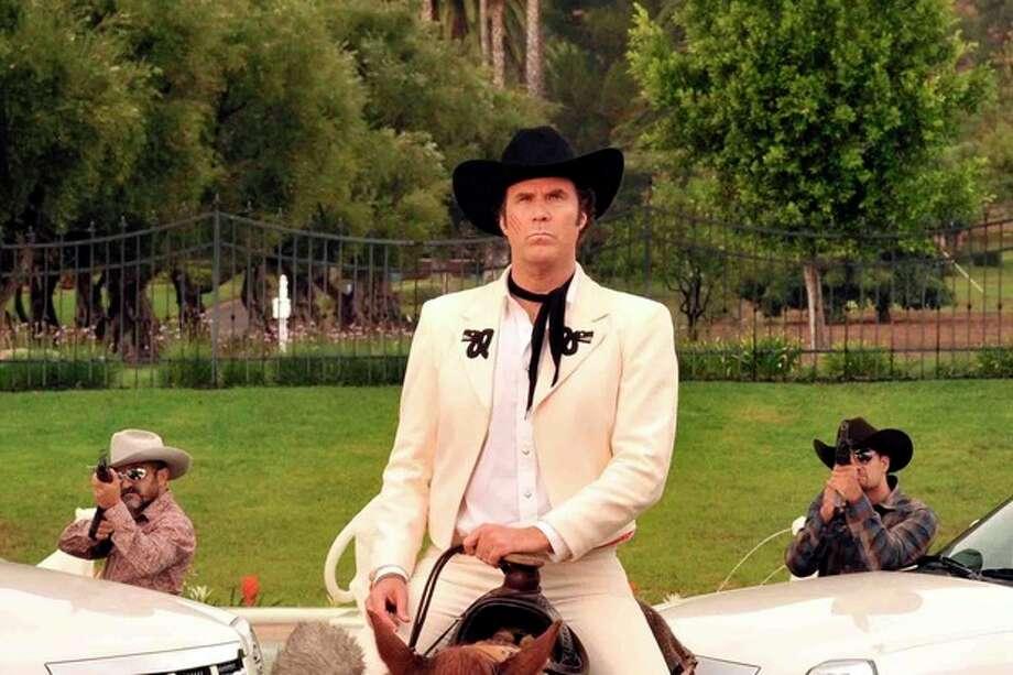 """In this film image released by Lionsgate, Will Ferrell, portraying Armando Alvarez, is shown in a scene from """"Casa De Mi Padre."""" (AP Photo/Lionsgate, John Estes) / Lionsgate"""