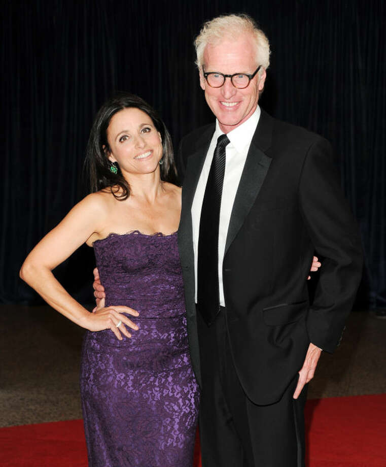 Julia Louis Dreyfus Husband: Julia Louis-Dreyfus, Brad Hall